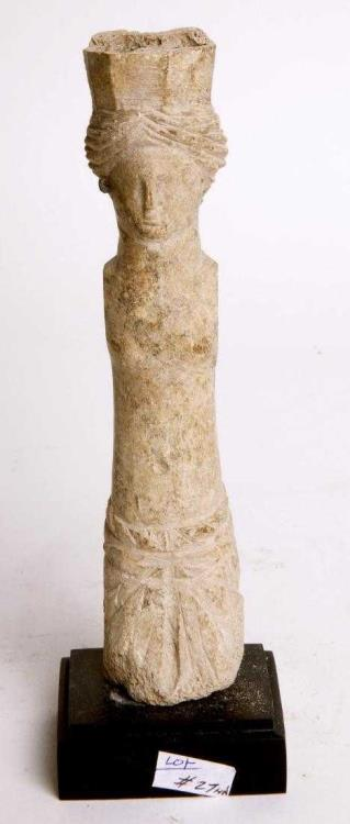 Ancient Roman Bone Carved Doll Of Aphrodite Circa 1st To 2nd Century Ad