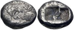 Ancient Coins - KINGS of LYDIA. temp. Cyrus – Darios I. Circa 550/39-520 BC. AR Siglos