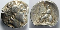 Ancient Coins - KINGS of THRACE. Lysimachos. 305-281 BC. AR Tetradrachm (16.95 gm, 29 mm)