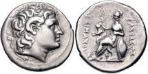 KINGS of THRACE, Macedonian. Lysimachos. 305-281 BC. AR Tetradrachm (27mm, 17.06 g, 1h)