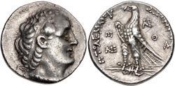 Ancient Coins - PTOLEMAIC KINGS of EGYPT. Ptolemy II Philadelphos. 285-246 BC. AR Tetradrachm