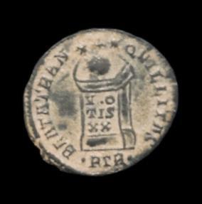 Ancient Coins - CONSTANTINE I. 307-337 AD. Æ Follis (19mm, 2.74 gm) Treveri (Trier) mint