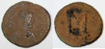 Justinian I. 527-565. Æ Follis (34mm, 15.3 gm). Uncertain mint .