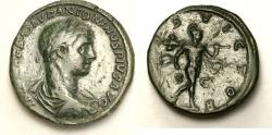 Ancient Coins - Roman Empire Elagabalus AE Sestertius 218/219 AD. (30mm, 22.83gm) Catalog: RIC IV 362