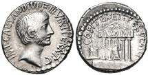 The Triumvirs. Octavian. Spring-early summer 36 BC. AR Denarius