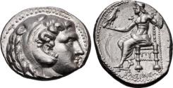 Ancient Coins - KINGS of MACEDON. Philip III Arrhidaios. 323-317 BC. AR Tetradrachm (27.5mm, 17.24 g, 4h).