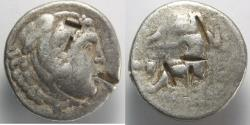 Ancient Coins - Macedon, Kings of. Alexander III. 336-323 BC. AR Tetradrachm (16.79 gm, 28mm).