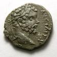 Ancient Coins - Septimius Severus, 9 April 193 - 4 February 211 A.D. Silver denarius, Barbaric imitation