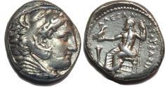 Ancient Coins - KINGS of MACEDON. Alexander III 'the Great'. 336-323 BC. AR Tetradrachm