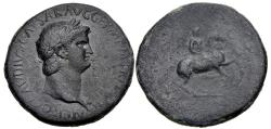 Ancient Coins - Nero. AD 54-68. Æ Sestertius (35mm, 24.08 g, 2h). Uncertain Balkan/Thracian mint.