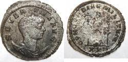 Ancient Coins - ROMAN. Imperial. Antoninianus Severina. Ticinum mint. 5th emission