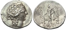 ISLANDS off THRACE, Thasos. Circa 90-75 BC. AR Tetradrachm (35 mm, 16.8 gm)