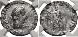 Ancient Coins - BAKTRIA, Indo-Greek Kingdom. Hermaios Soter. Circa 105-90 BC. AR Tetradrachm