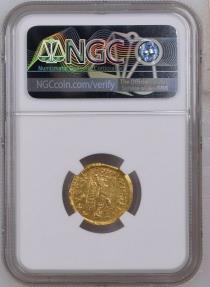 Ancient Coins - Anastasius I. 491-518. AV Solidus (4.37gm). Constantinople mint, 2nd officina. Struck 492-507.