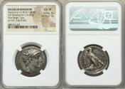 Ancient Coins - SELEUCID KINGDOM. Demetrius II Nicator, first reign (146/5-138 BC). AR tetradrachm