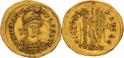 Ancient Coins - Marcian. 450-457 AD. Solidus, 4.14gg. (5h). Constantinople.