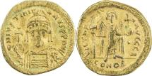 BYZANTINE EMPIRE: Justinian I, 527-565, AV solidus (20mm, 4.07g), Constantinople