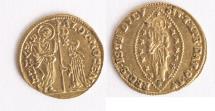 World Coins - ITALY. Venice. Alvise IV Mocenigo (1763-1778). GOLD Zecchino.