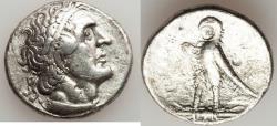 Ancient Coins - PTOLEMAIC EGYPT. Ptolemy I Soter (305-282 BC). AR tetradrachm (13.72 gm). VF.