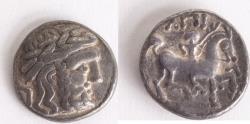 Ancient Coins - EASTERN EUROPE, Imitations of Philip II of Macedon. 3rd century BC. AR Tetradrachm