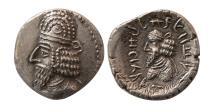Ancient Coins - KINGS OF PERSIS; Napad (Kapat) 1st century AD. AR Drachm. Lovely strike.