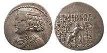 Ancient Coins - PARTHIAN KINGDOM. Orodes II. Ca. 57-38 BC. Silver Tetradrachm. Seleukeia on Tigris.