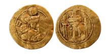 Ancient Coins - SASANIAN EMPIRE. Shahpur III. AD. 383-388. Gold Dinar. Extremely Rare.