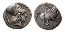 AKARNANIA, Alyzeia. Circa 330-280 BC. AR Stater.