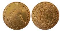 Ancient Coins - SPAIN. Carlos IV. 1788-1808. Gold 4 Escudos. 1792, Madrid mint.