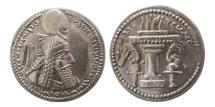 Ancient Coins - SASANIAN KINGS. Ardashir I. AD. 223/4-240. Silver Drachm.