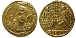 ROMAN EMPIRE. Constantius II. AD. 337-361. Gold Solidus. Sirmium mint,