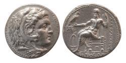 Ancient Coins - SELEUKID KINGS, Seleukos I Nikator. 312-281 BC. Silver Tetradrachm. Arados mint.