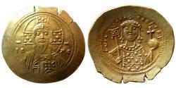 Ancient Coins - BYZANTINE EMPIRE. Michael VII Ducas. AD. 1071-1078. EL Histamenon Nomisma.