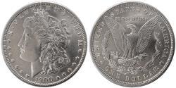 World Coins - UNITED STATES. 1900. Morgan Dollar. Choice UNC.