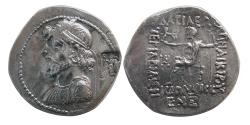 Ancient Coins - KINGS of ELYMIAS. Kamnaskires IV. Ca. 63/2-54/3 BC. AR Tetradrachm. Dated 255 SE = 58/57 BC. Very Rare.