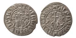 World Coins - KINGS of ARMENIA; Levon I. 1198-1219 AD. AR Tram.
