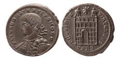 Ancient Coins - ROMAN EMPIRE. Constantine II. as Caesar. 317-337 AD. Æ Follis. Treveri mint, under Constantine I.