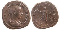 Ancient Coins - ROMAN EMPIRE. Gordianus III. AD. 238-244. Æ Sestertius.