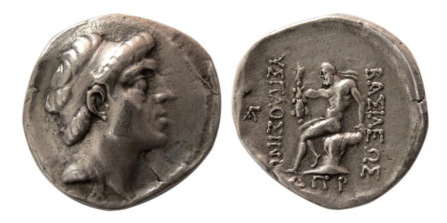 CHARACENE: Attambelos I, ca. 47-25 BC, AR tetradrachm (12