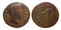 Ancient Coins - THRACE, Philippopolis. Aelius. Caesar, A.D. 136-138. Æ.