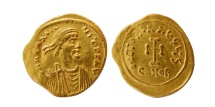 Ancient Coins - BYZANTINE EMPIRE. Heraclius. AD. 610-641. Gold Tremissis.