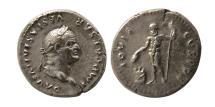 Ancient Coins - ROMAN EMPIRE. Vespasian.  AD. 69-79. AR Denarius.