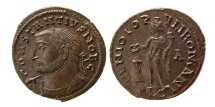 Ancient Coins - ROMAN EMPIRE. Constantius I. As Caesar, AD. 293-305. Æ Follis. Lovely strike.
