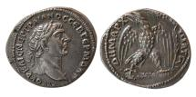 Ancient Coins - PHOENICIA, Tyre. Trajan. AD 98-117. AR Tetradrachm. Lovely Strike. Choice Superb EF.