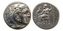 Ancient Coins - KINGS of MACEDON. Alexander III. 336-323 BC. AR Tetradrachm. Lampsakos mint.