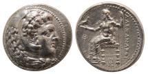Ancient Coins - KINGS of MACEDON, Alexander III. 336-323 BC. AR Tetradrachm. Babylon mint. Lifetime issue.