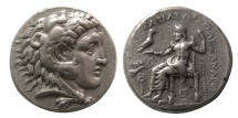 Ancient Coins - KINGS of MACEDON. Alexander III. 336-323 BC. AR Tetradrachm. Tarsos mint. Struck under Philip III.