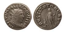Ancient Coins - ROMAN EMPIRE. Valerian I. AD 253-260. AR Antonininaus.