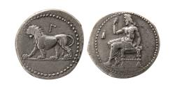 Ancient Coins - ALEXANDRINE EMPIRE. Babylon. Circa 328-311 BC. AR Double Shekel. Babylon mint.