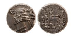 Ancient Coins - KINGS of PARTHIA. Phraates IV. 38/7-2 BC. Silver Drachm. Ekbatana mint. Lovely style.